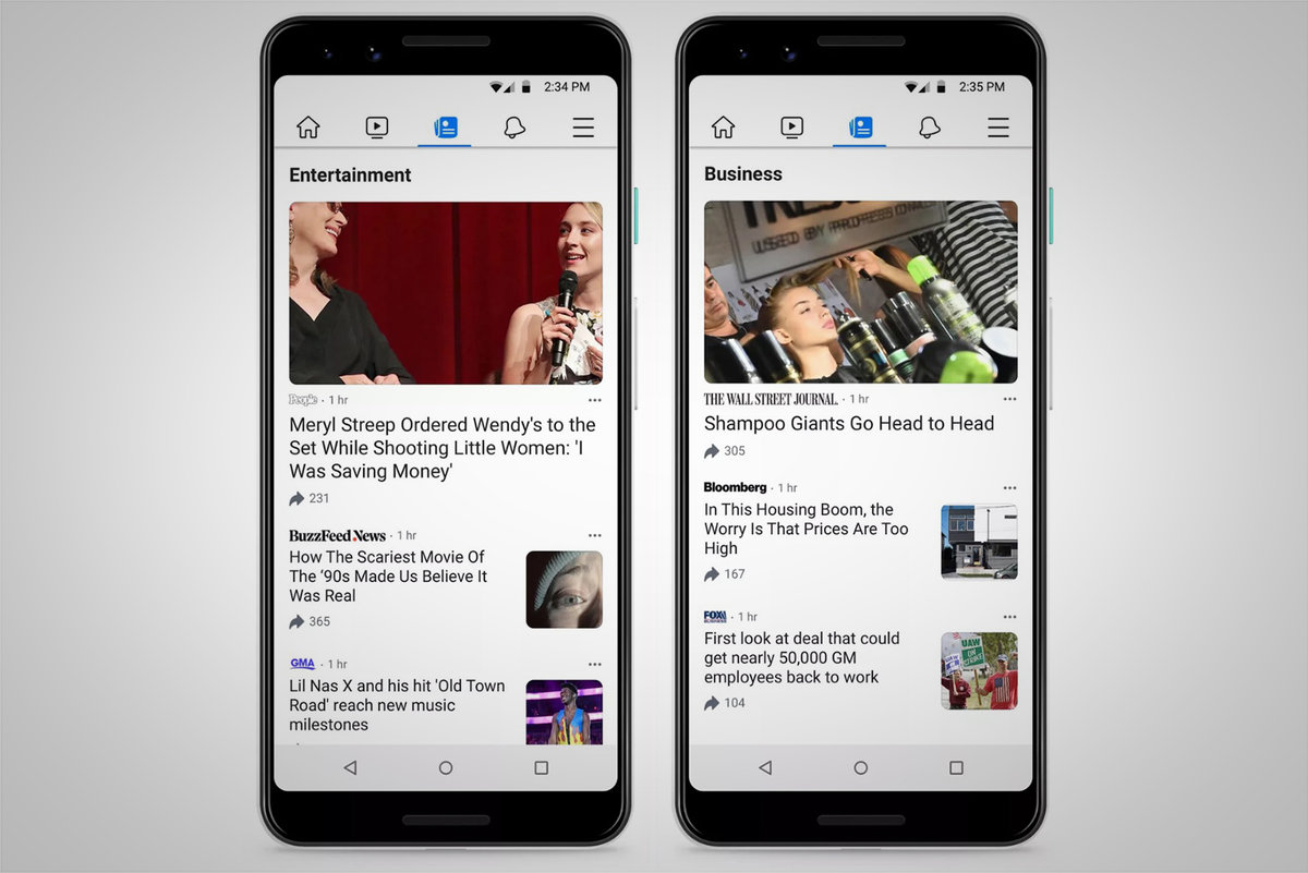 What is Facebook News, which publishers are included, and how does it