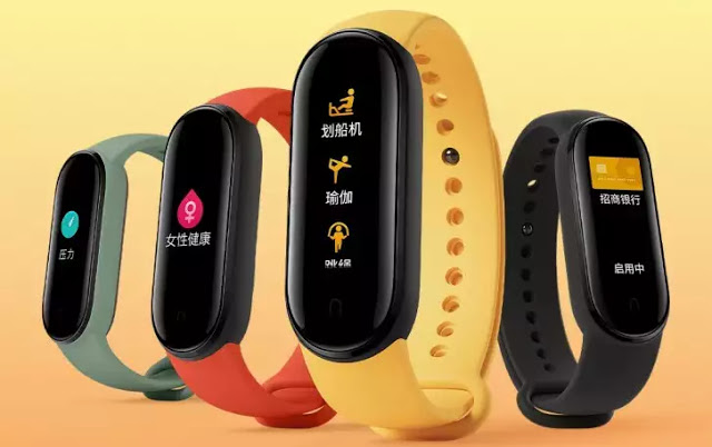 mi-band-5Xiaomi Mi Band 5 gets a larger display, stress detection, magnetic charging